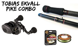 Picture of Tobias Ekvall's Pike Combo -170gr Baitcasting